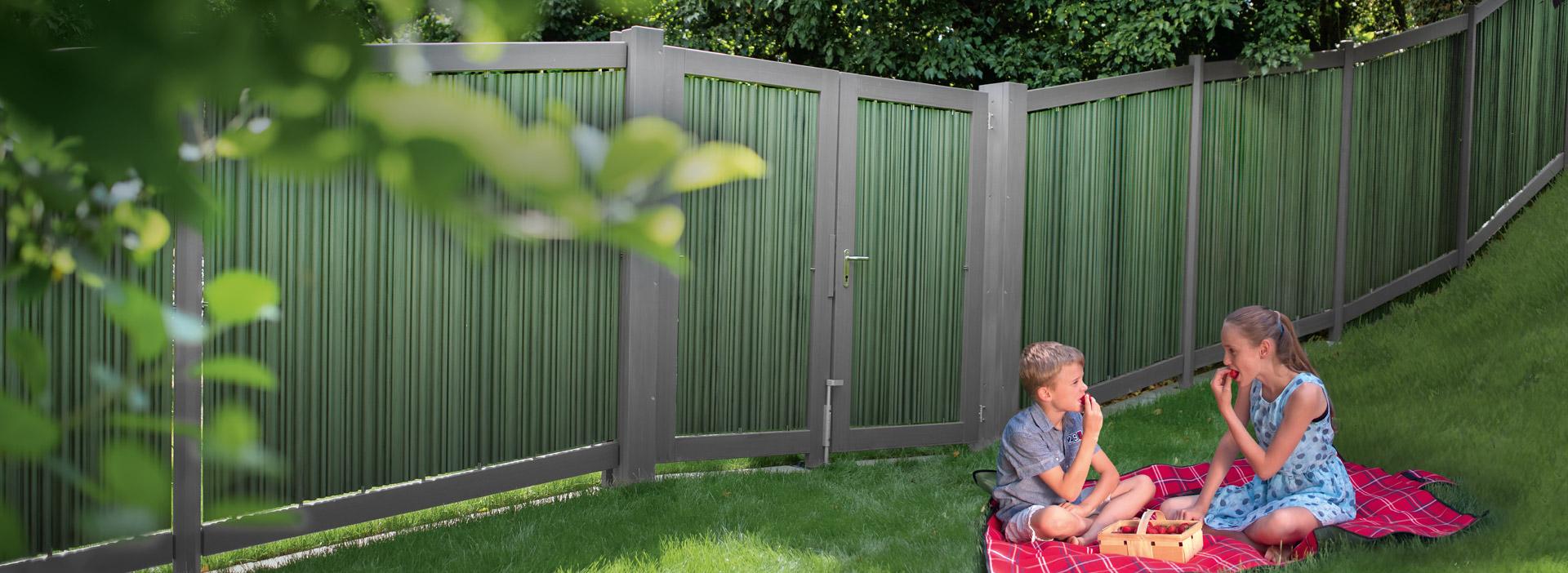 Il sistema per terrazze - Sistema di recinzione