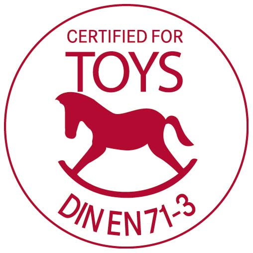 Certified for toys