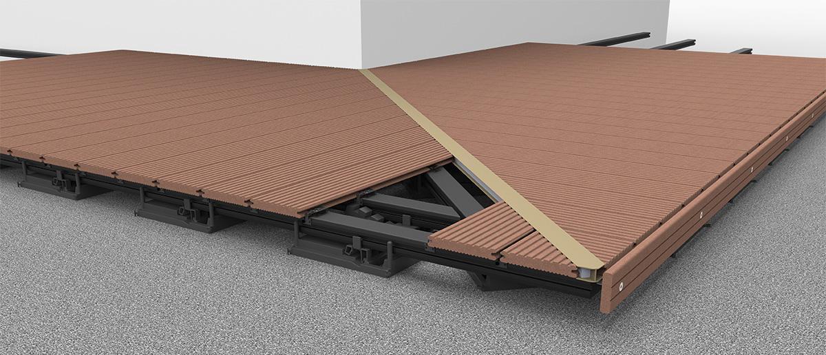 megawood terrassensystem verlegevarianten. Black Bedroom Furniture Sets. Home Design Ideas