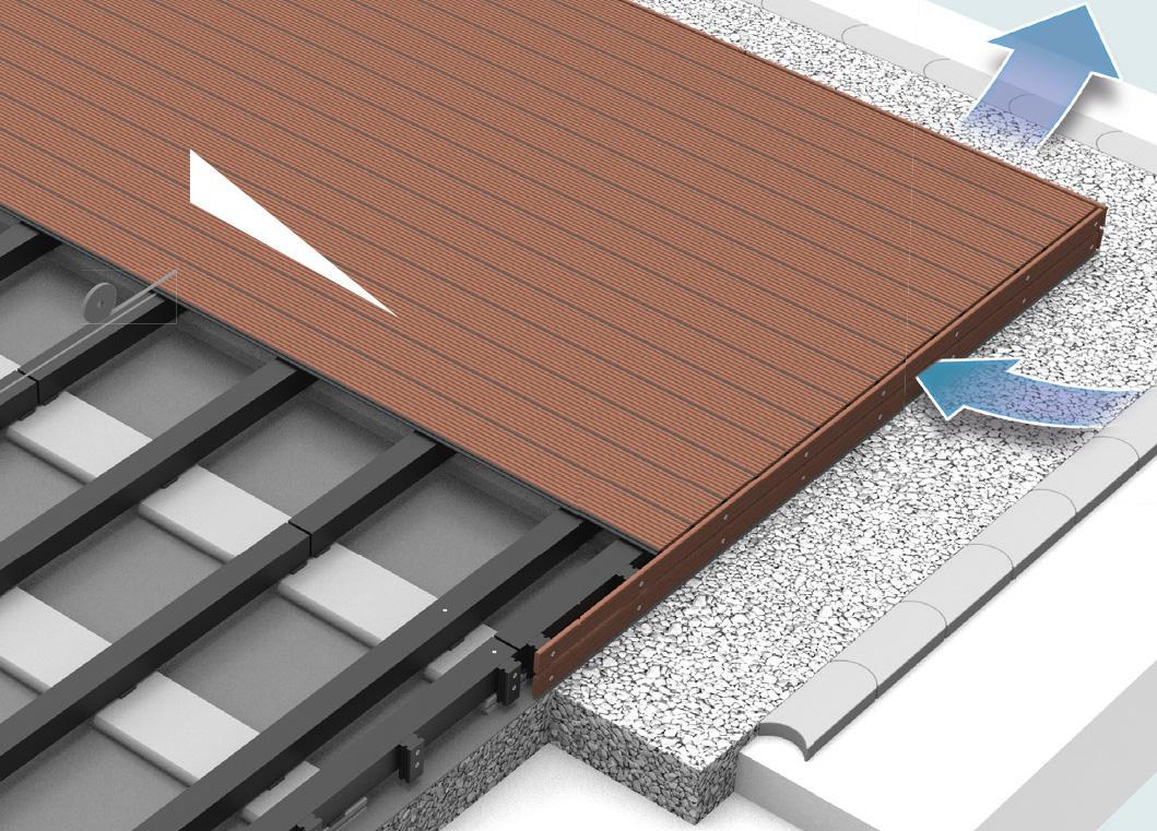 Unterbau Terrasse Kies Zimerfrei = Idées de Design