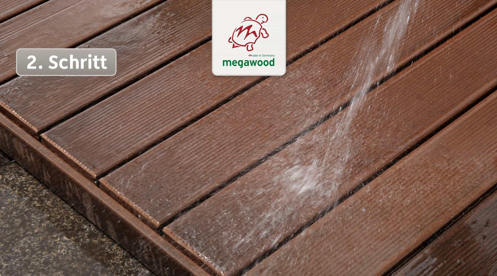 Wpc Dielen Megawood megawood terrassensystem pflege