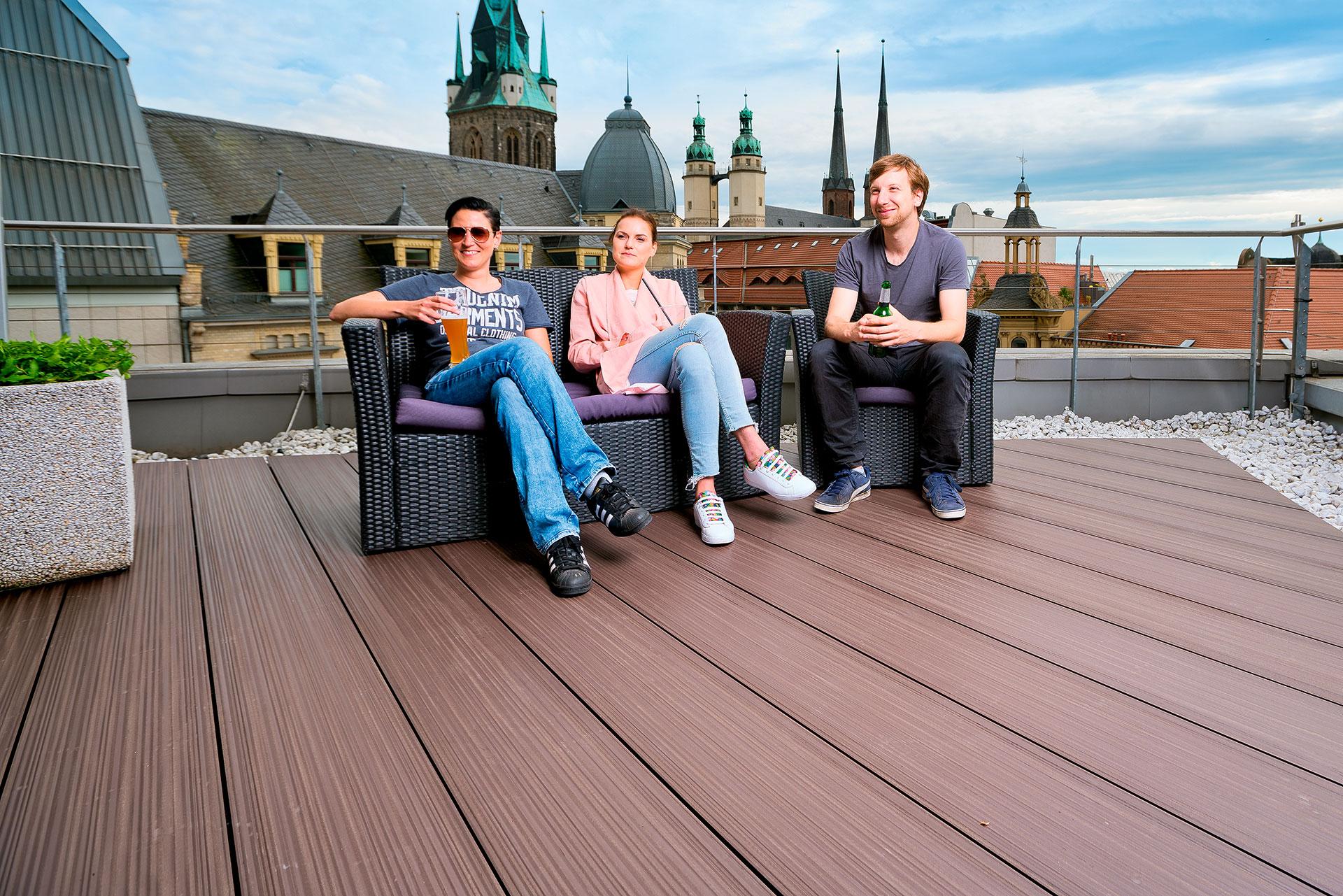 terrassensystem megawood. Black Bedroom Furniture Sets. Home Design Ideas