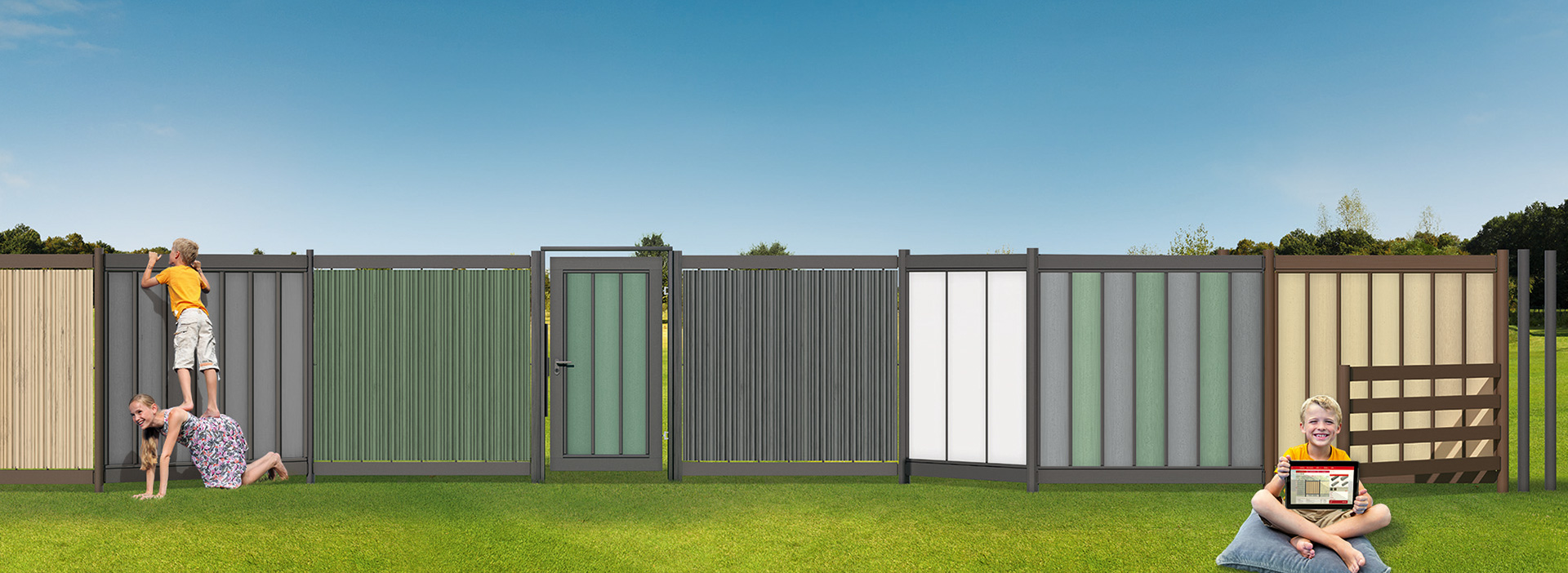 megawood Terrassensystem - Zaun