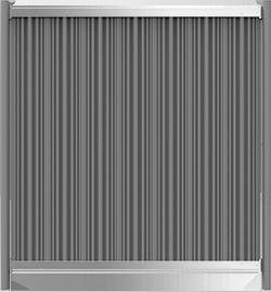 Megawood Terrassensystem Zaun
