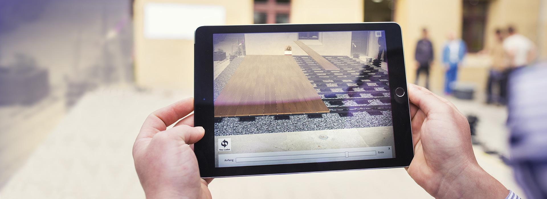 3D-Planung am Tablet mit Augmented Reality